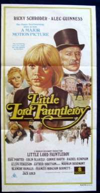 Little Lord Fauntleroy Daybill Movie poster