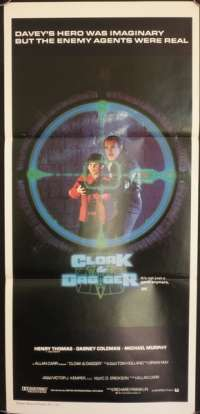Cloak & Dagger Daybill Movie poster