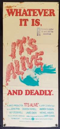 It's Alive Movie Poster Original Daybill Horror