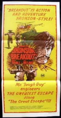 Breakout - Charles Bronson Daybill Movie poster
