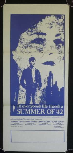 Summer Of '42 Australian Movie Daybill Poster