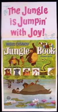 The Jungle Book Daybill Movie Poster Disney