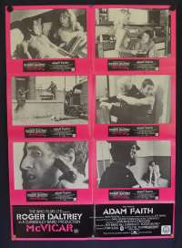 McVicar 1980 Photosheet movie poster Gangster Roger Daltrey The Who