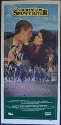 The Man From Snowy River 1982 Daybill movie poster Tom Burlinson Kirk Douglas