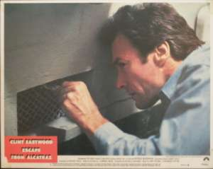 Escape From Alcatraz 1979 Clint Eastwood Fred Ward Lobby Card No 5