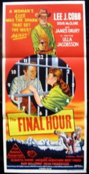 Final Hour, The Daybill Movie poster