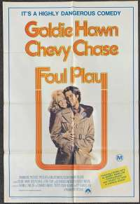 Foul Play One Sheet Australian Movie poster