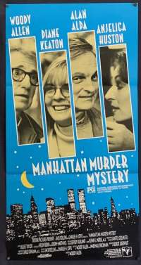 Manhattan Murder Mystery - Woody Allen Daybill Movie poster