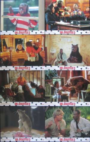 Dr.Dolittle 2 1998 Lobby Card Set Eddie Murphy