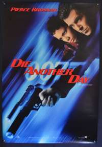 Die Another Day 2002 Pierce Brosnan ROLLED D/S Style B art One Sheet movie poster