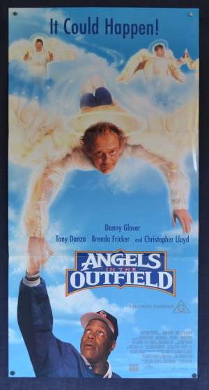 Angels In The Outfield Poster Original Daybill 1994 Danny Glover Tony Danza Baseball