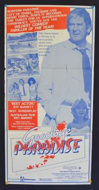 Goodbye Paradise 1983 movie poster Ray Barrett Australian Daybill