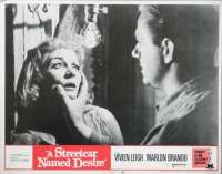 A Streetcar Named Desire 1951 Marlon Brando Vivien Leigh 11x14 USA Lobby Card No. 7