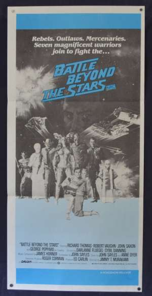 Battle Beyond The Stars Poster Original Daybill 1980 Roger Corman Richard Thomas