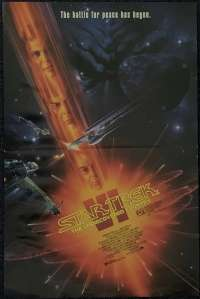 Star Trek VI The Undiscovered Country 1991 Daybill mini movie poster