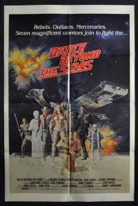 Battle Beyond The Stars 1980 One Sheet movie poster Sci-Fi Roger Corman Richard Thomas
