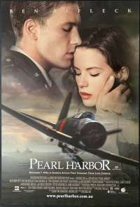 Pearl Harbour 2001 One Sheet ROLLED Movie poster Ben Affleck Kate Beckinsale