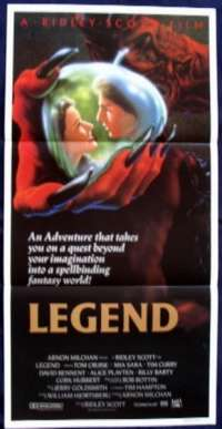 Legend movie poster Tom Cruise Daybill