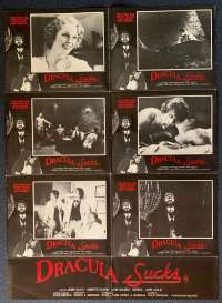 Dracula Sucks Poster Original Photosheet 1978 Aka Lust At First Bite Sexploitation