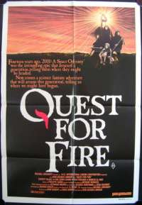 Quest For Fire One Sheet Australian Movie poster