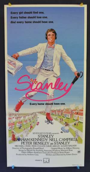 Stanley Every Home Should Have One 1984 Graham Kennedy Daybill poster