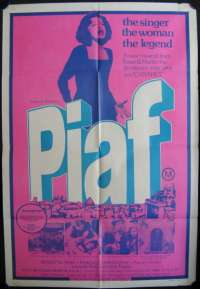 Piaf One Sheet Australian Movie poster
