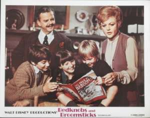 Bedknobs And Broomsticks - Disney Lobby Card
