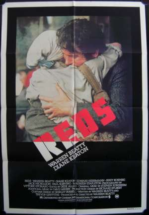 Reds One Sheet Australian Movie poster