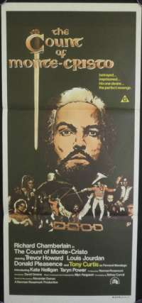 Count Of Monte Cristo, The Daybill Movie poster