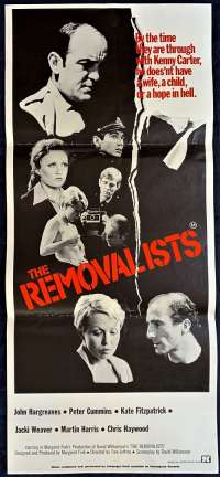 The Removalists Poster Original Daybill 1975 Jacki Weaver David Williamson