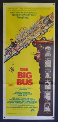 The Big Bus Daybill Movie poster