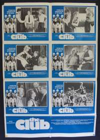 The Club Movie Poster Original Australian Photosheet 1980 Jack Thompson