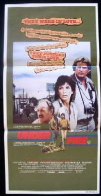 Under Fire Daybill Movie poster
