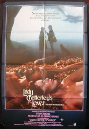 Lady Chatterley's Lover One Sheet Australian Movie poster