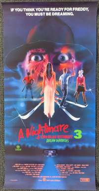 A Nightmare On Elm Street 3 Movie Poster Daybill Patricia Arquette