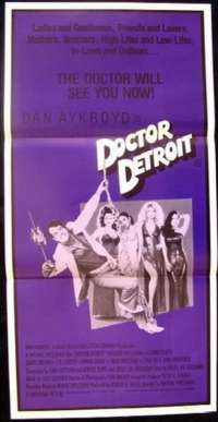 Doctor Detroit Daybill Movie poster