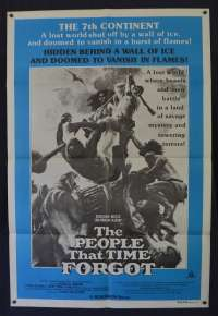 The People That Time Forgot Poster Original One Sheet 1977 Doug McClure