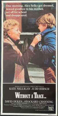 Without A Trace Movie Poster Original Daybill Rolled NEVER Folded 1983 Kate Nelligan