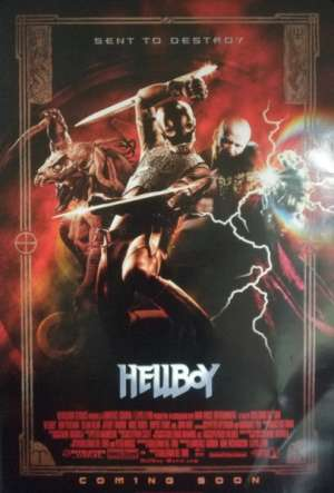 Hellboy (Rolled) One Sheet Australian Movie Poster