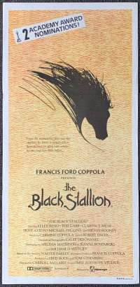 The Black Stallion 1979 Daybill movie poster Francis Ford Coppola
