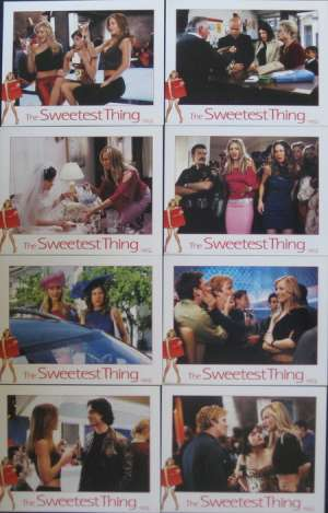 The Sweetest Thing Lobby Card Set