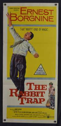Rabbit Trap, The Daybill Movie poster