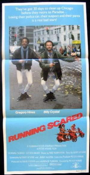 Running Scared Daybill Movie poster