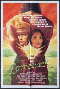 Comeback 1982 Michael Landon Love Is Forever One Sheet movie poster