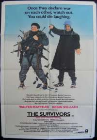 Survivors, The One Sheet Australian Movie poster