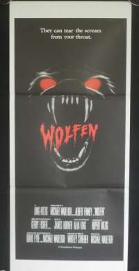 Wolfen 1981 Albert Finney Gregory Hines Daybill Poster