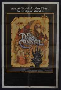 The Dark Crystal 1982 One Sheet USA movie poster Jim Henson Frank Oz