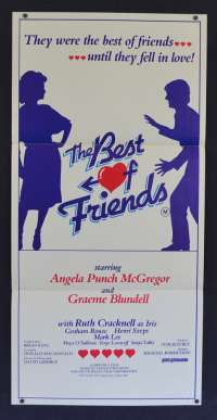 The Best Of Friends 1982 movie poster Graeme Blundell Angela Punch Daybill