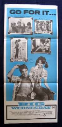 Big Wednesday Jan Michael Vincent Daybill Movie poster