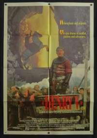 Henry V 1989 One Sheet movie poster Kenneth Branagh Shakespeare Paul Scofield